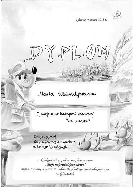 2013 - Konkurs logopedyczno-plastyczny (1)