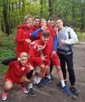 1 miejsce sztafety Gimnazjum Sportowego