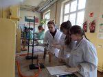 Zajęcia w laboratorium chemicznym