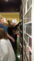 Lekcja biblioteczna w MBP